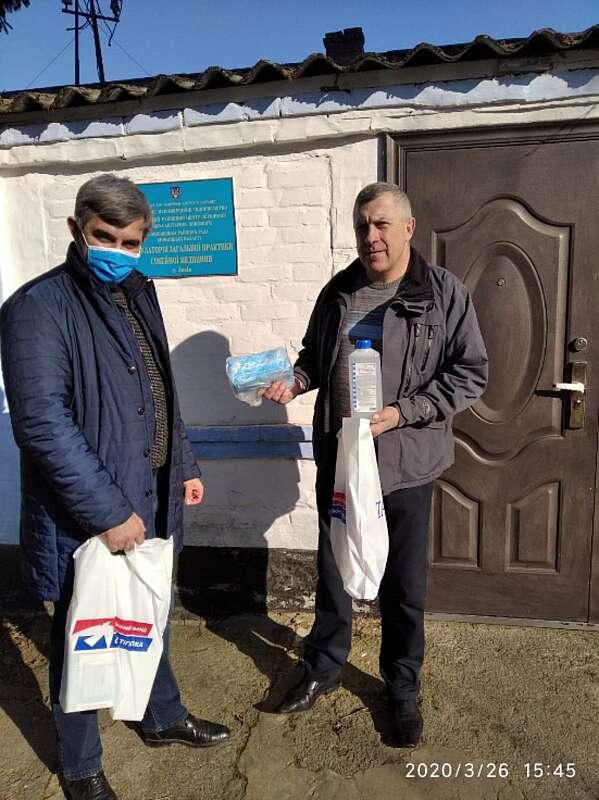 Компанія «ТАС Агро» допомагає боротися з пандемією коронавірусу на Вінниччині