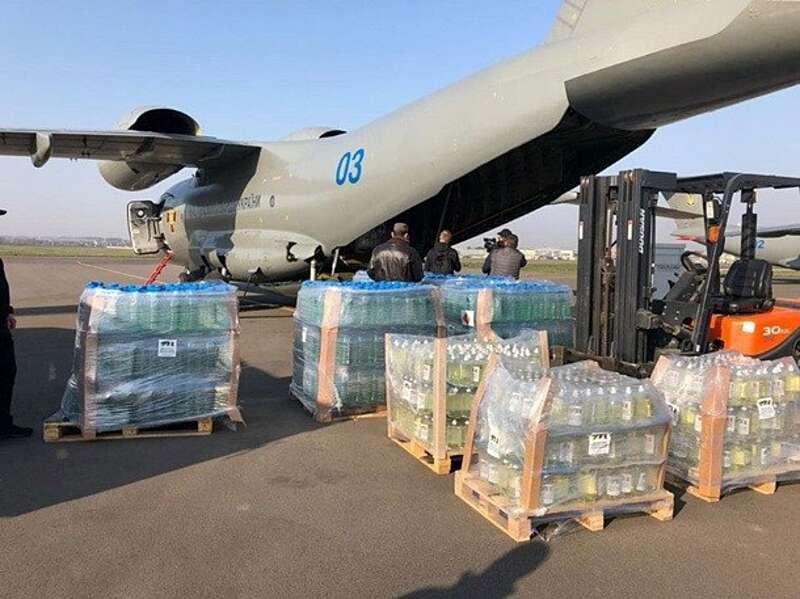 Україна відправила спец.літак з допомогою в Італію