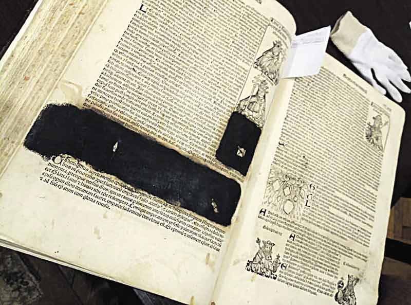 Найдавніший першодрук у Вінниці важить 10 кілограмів