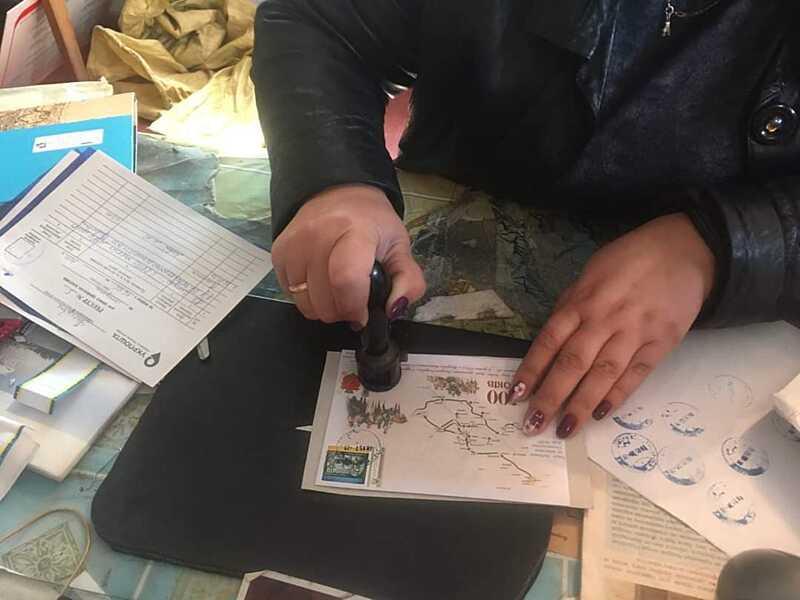 На Ямпільщині погасили унікальні марки до 100-річчя Зимового Походу УНР