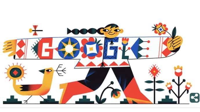 День вишиванки на Google