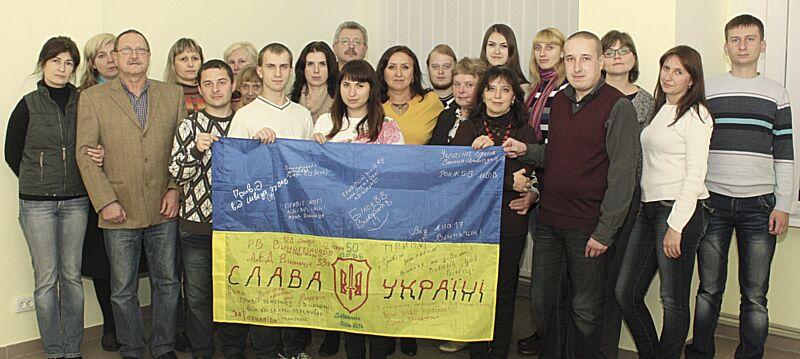 В Україні – війна і на передовій журналістики