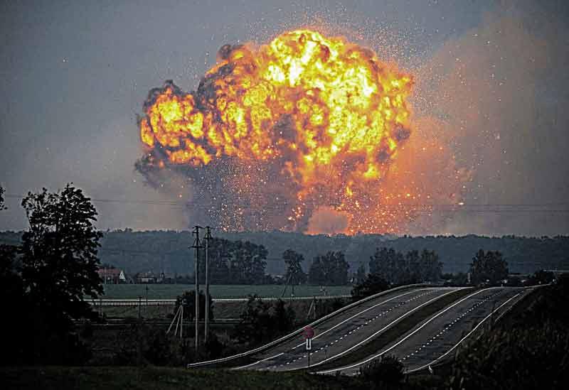На Калинівському арсеналі, що вибухнув, знайшли розтрату понад 19 мільйонів державних коштів