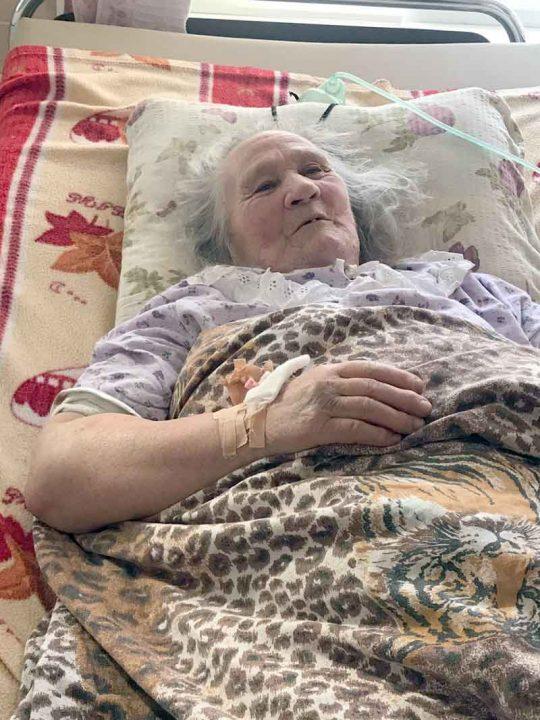 83-річна Ксенія Дідух зі Стрижавки, яку ледь не похоронили заживо, прожила ще 3 місяці і померла