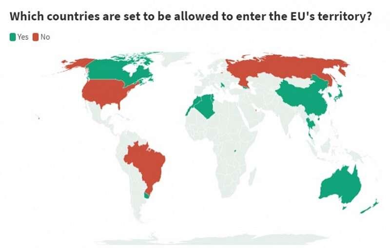 Кого пускатимуть на територію Євросоюзу з 1-го липня? Чи є шанси в українців?