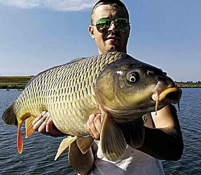Вінницькі рибалки приймали участь у спортивних змаганнях з лову коропа