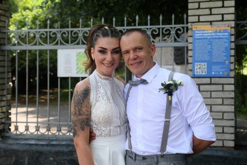 На весілля до вінницького Ейнштейна та Верони з'їхалися байкери зі всієї України