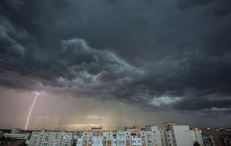 Штормове попередження оголосили на вівторок