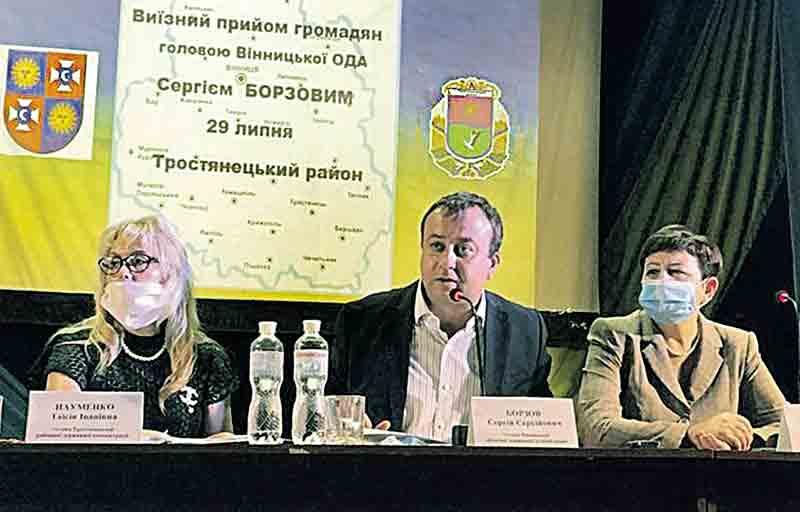 На зустрічі з Борзовим освистали директора Тростянецького спиртзаводу