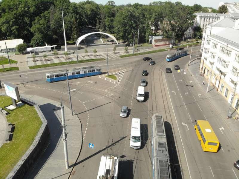 На площі Гагаріна наступного тижня розпочнеться реорганізація дорожнього руху