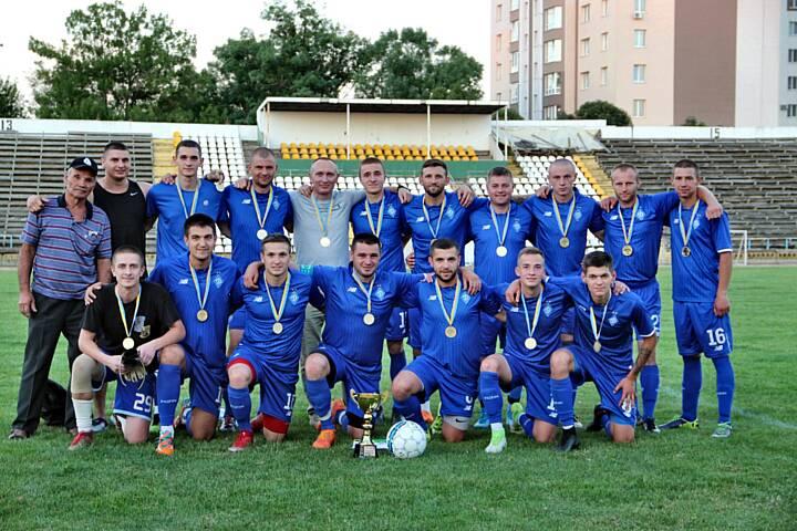 ФК «Ягуар» калинівського полку Нацгвардії переможець Чемпіонату міста серед держслужбовців!
