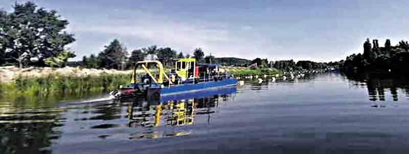 Велика «чистка» Бугу 5 земснарядів на головній річці Вінниці