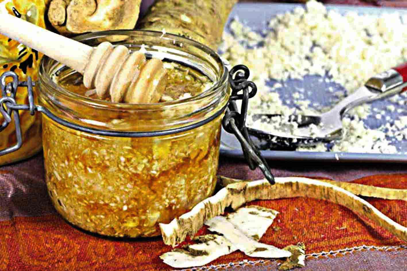 Хрін з медом – еліксир здоров'я