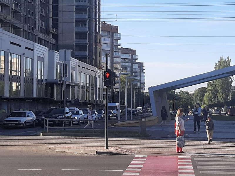 На Келецькій відновили знесений 5 вересня Маздою світлофор! (відео)