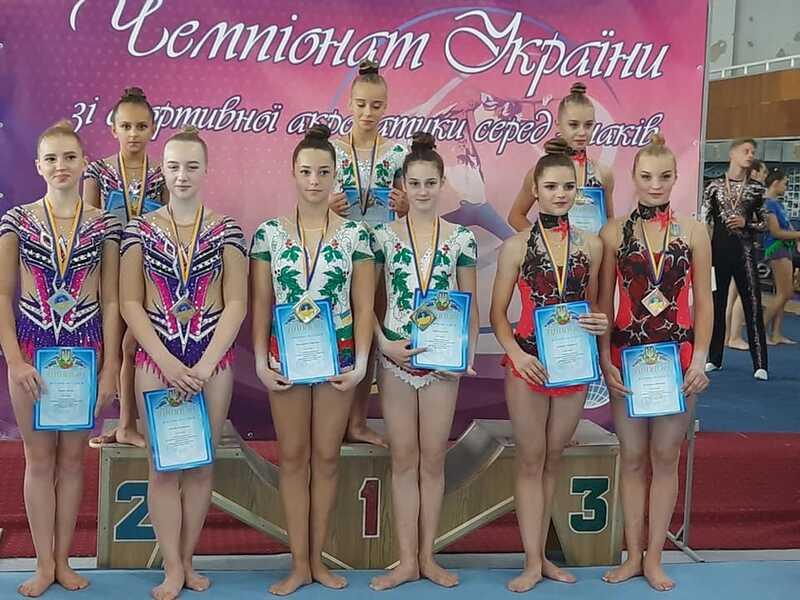 Вінницькі акробати успішно виступають на Всеукраїнських змаганнях