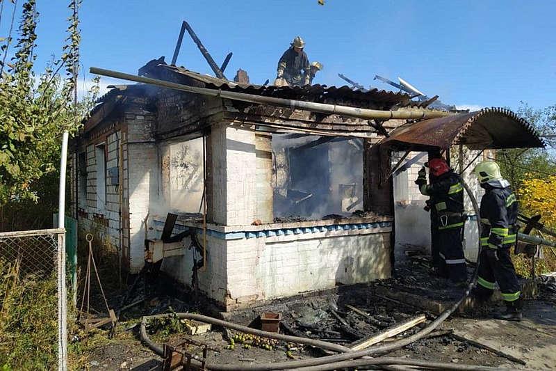 Під час пожежі на Вінниччині помер 59-річний чоловік