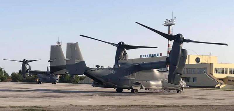 """Замість хасидів у аеропорт «Вінниця» прилетіло НАТО… Це учасники навчань """"Об'єднані Зусилля-2020"""""""