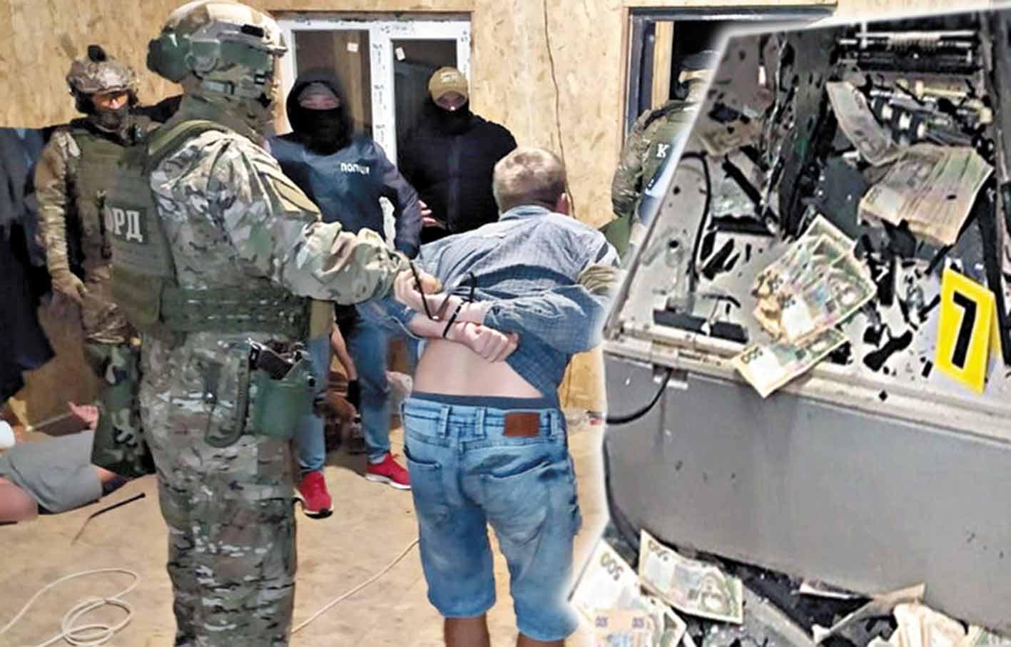 Банда з 4-х братів підривала банкомати! 5-й брат носитиме їм передачі в тюрму?