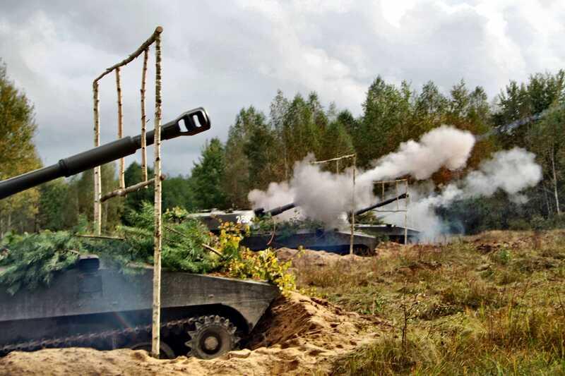 «Противника знищено»: Навчання артилеристів з Вінниччини завершились (фоторепортаж)