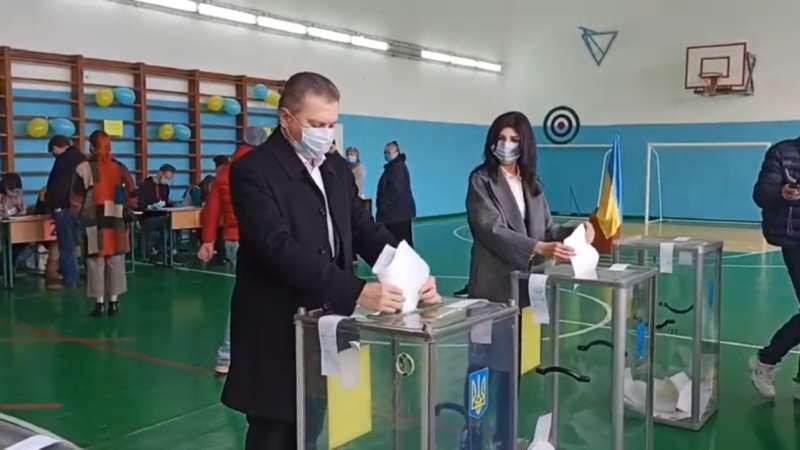 Голосування мера Вінниці (відео)