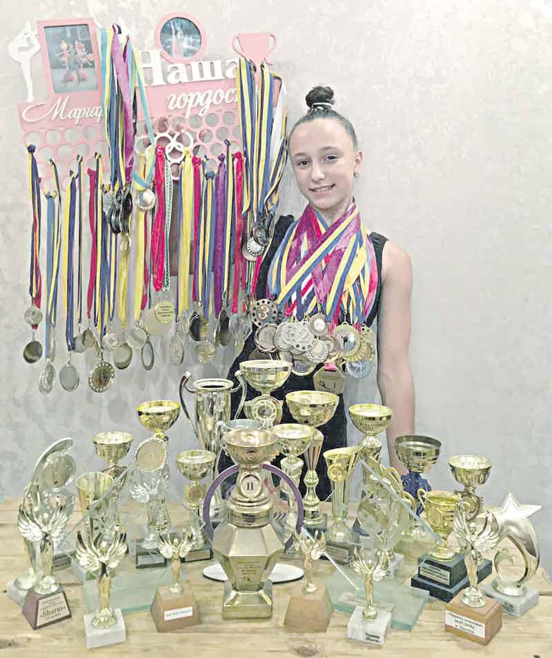 Майстром спорту з художньої гімнастики мріє стати 13-річна вінничанка