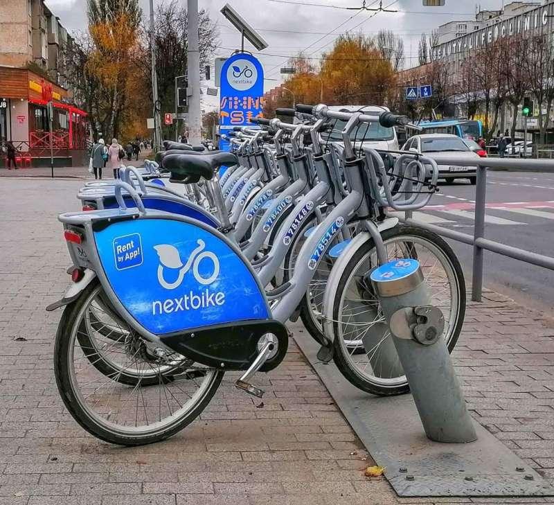 У Вінниці фінішує сезон велопрокату