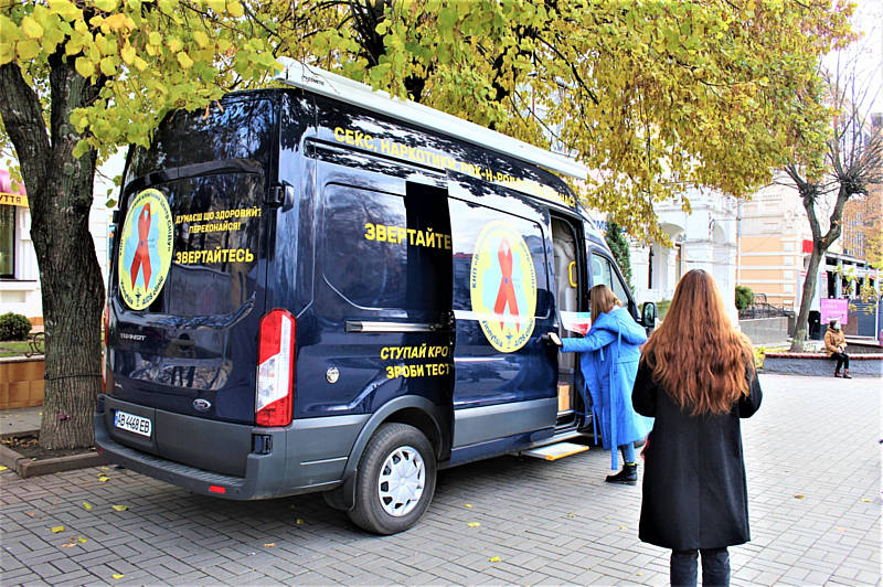 Приходьте на безкоштовне тестування гепатиту та ВІЛ/СНІД! У Вінниці розпочався тиждень Європейського тестування!