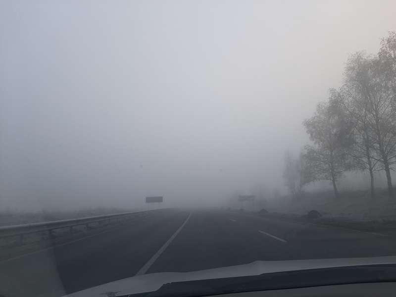 Вінниччину накрили ранкові тумани та -5 морозу (відео)