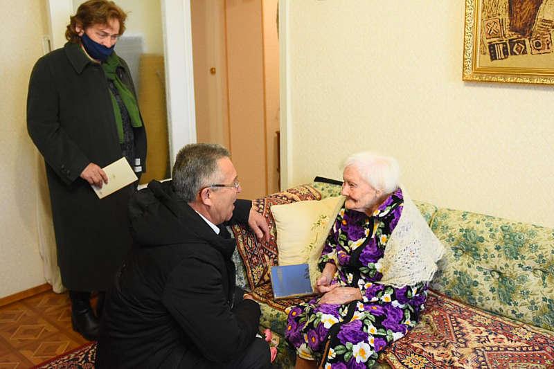 Жительці Тульчина виповнилось 100 років!