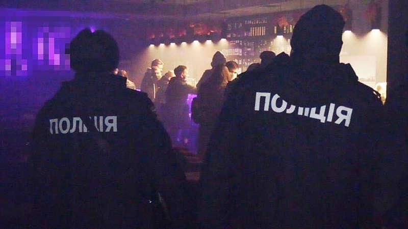 У Вінниці поліцейські закрили кальян-бар за порушення карантинних обмежень
