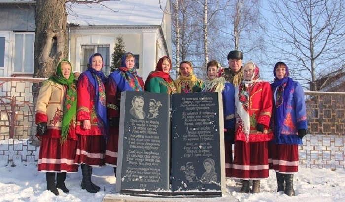 Пам'ятник пісні «Повій, вітре, не Вкраїну» встановили у Хомутинцях