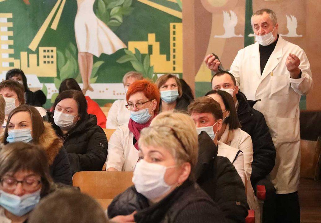 З колективом Вінницькій ЦРКЛ зустрілися представники Вінницької міської та районної ради (відео)