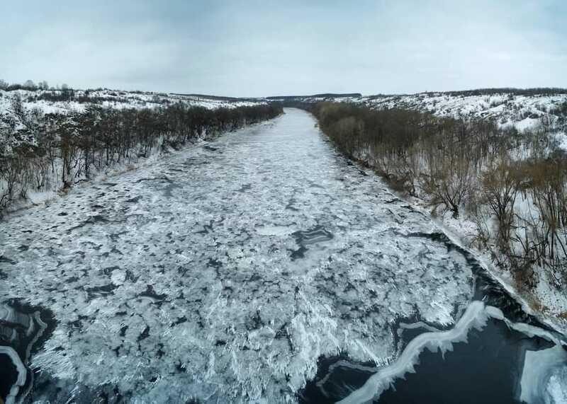 Неймовірний Південний Буг показав на фото мандрівник Роман Маленков