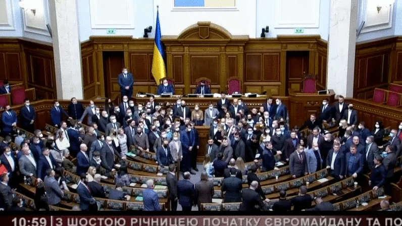 Депутати Верховної Ради визнали Революцію гідності  історичною подією