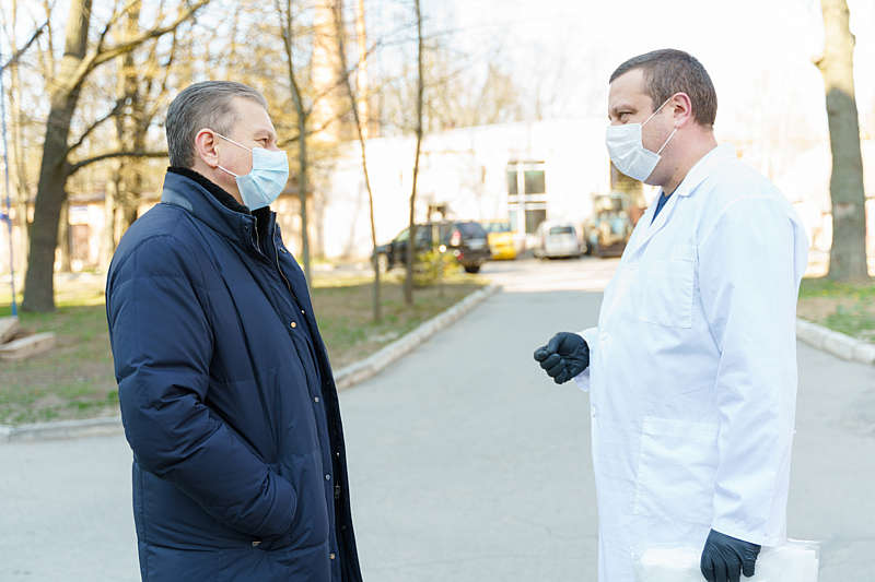 У Вінниці зайняті вже більше 80% ковідних ліжок в лікарнях!