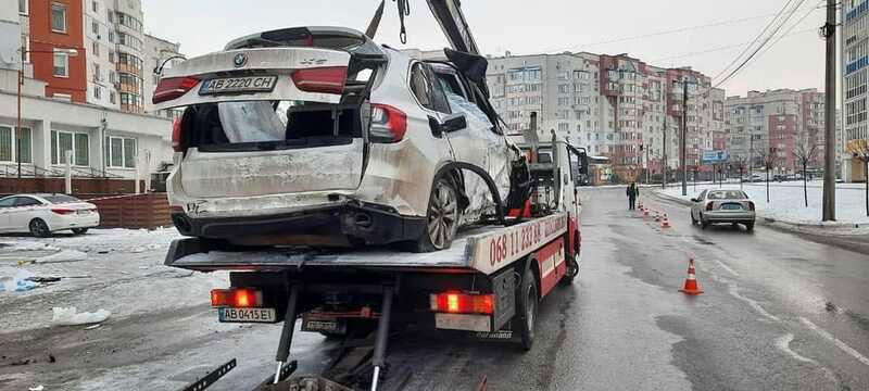 Два Олександри на «БМВ» тікали від поліції… та тричі перекинулись біля «Карабаса»