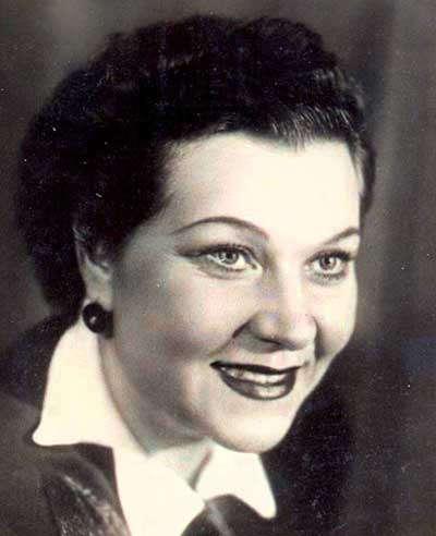 113 років тому народилася співачка Клавдія Шульженко