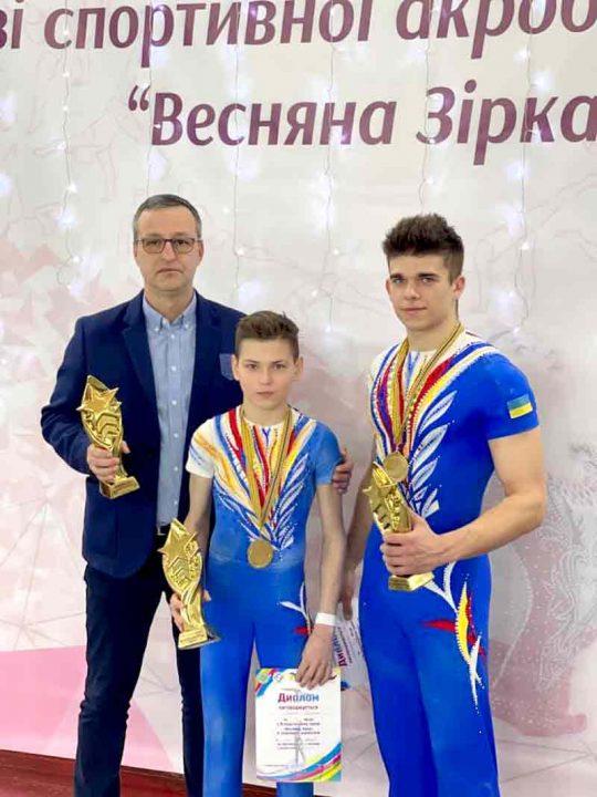 «Весняна зірка» принесла вінницьким акробатам багато медалей. Наші знову найсильніші в Україні