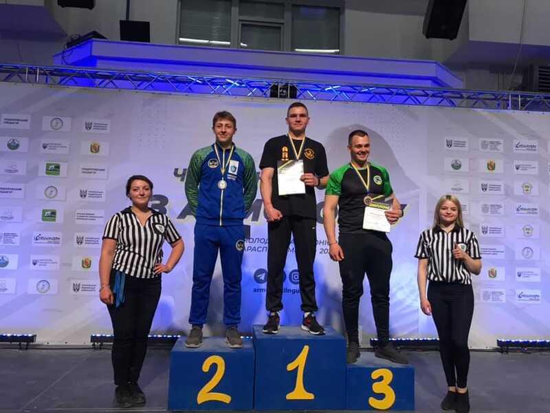 5 медалей з армреслінгу привезли вінничани