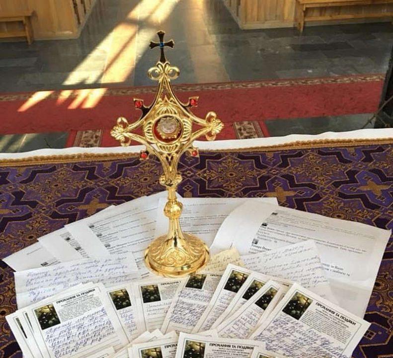 Католицькі реліквії викрали із санктуарія у Гнівані