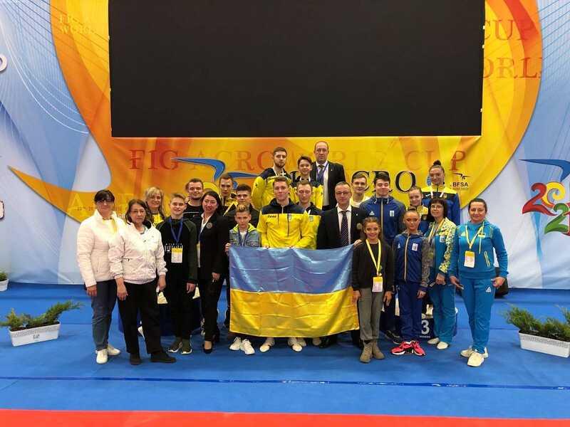 Збірна України – чемпіони Кубку світу з акробатики