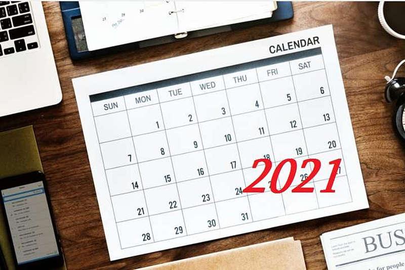 Вихідні і державні свята в останній місяць весни-2021