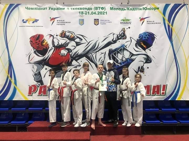 Вінничани привезли медалі із чемпіонату України з тхеквондо