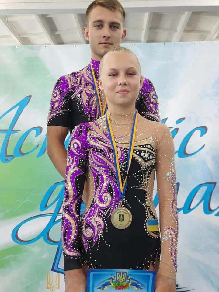 15-річна Вікторія Демура отримала травму на Кубку світу з акробатики