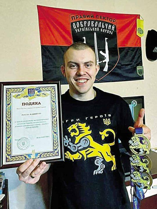 Роман з Хмільника на протезі виборов три медалі на «Іграх героїв-2021». Свою перемогу присвятив новонародженому сину!