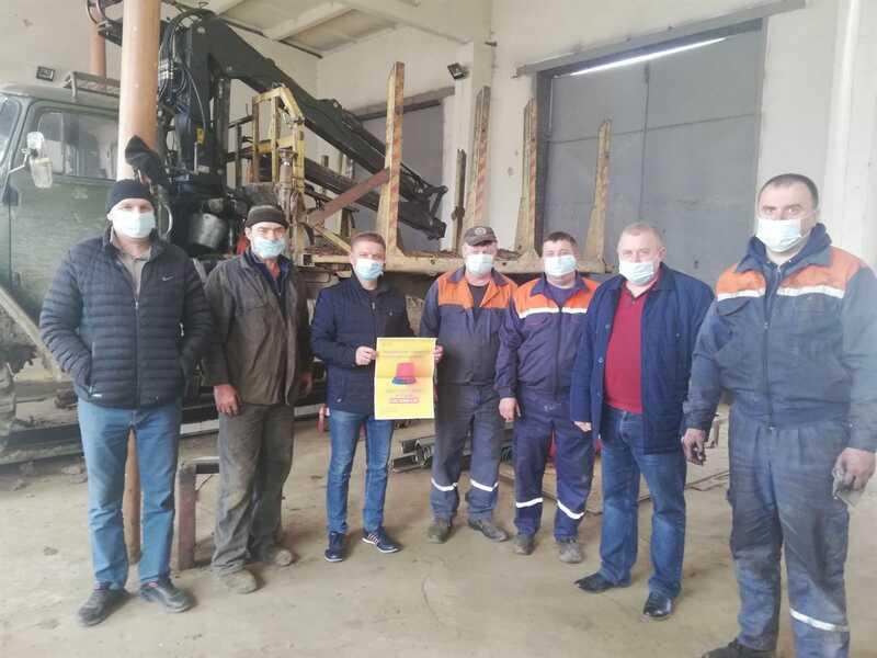 Вінницькі лісівники підводять підсумки тижня охорони праці
