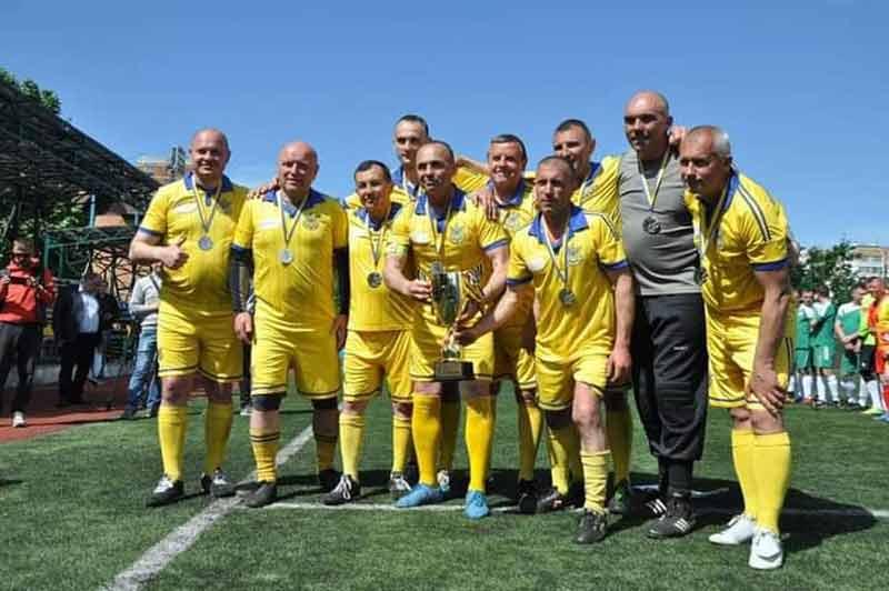 Команда мерів Вінниччини друга на всеукраїнському чемпіонаті з футболу