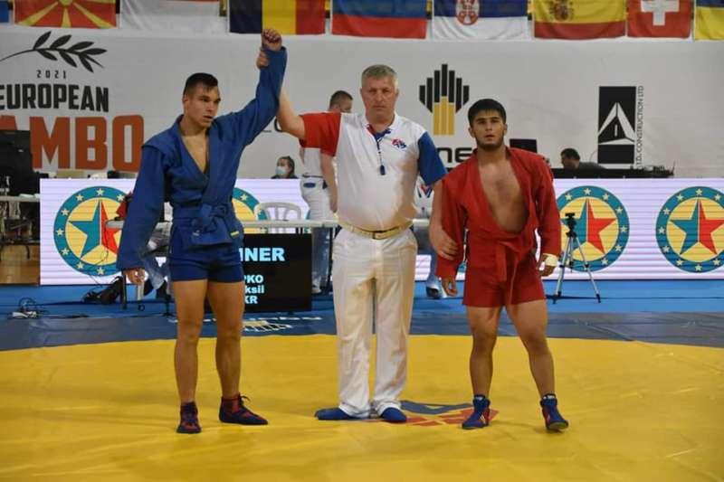 Студент ВНТУ Олексій Липко став срібним призером чемпіонату Європи і отримав перепустку на чемпіонат світу з самбо