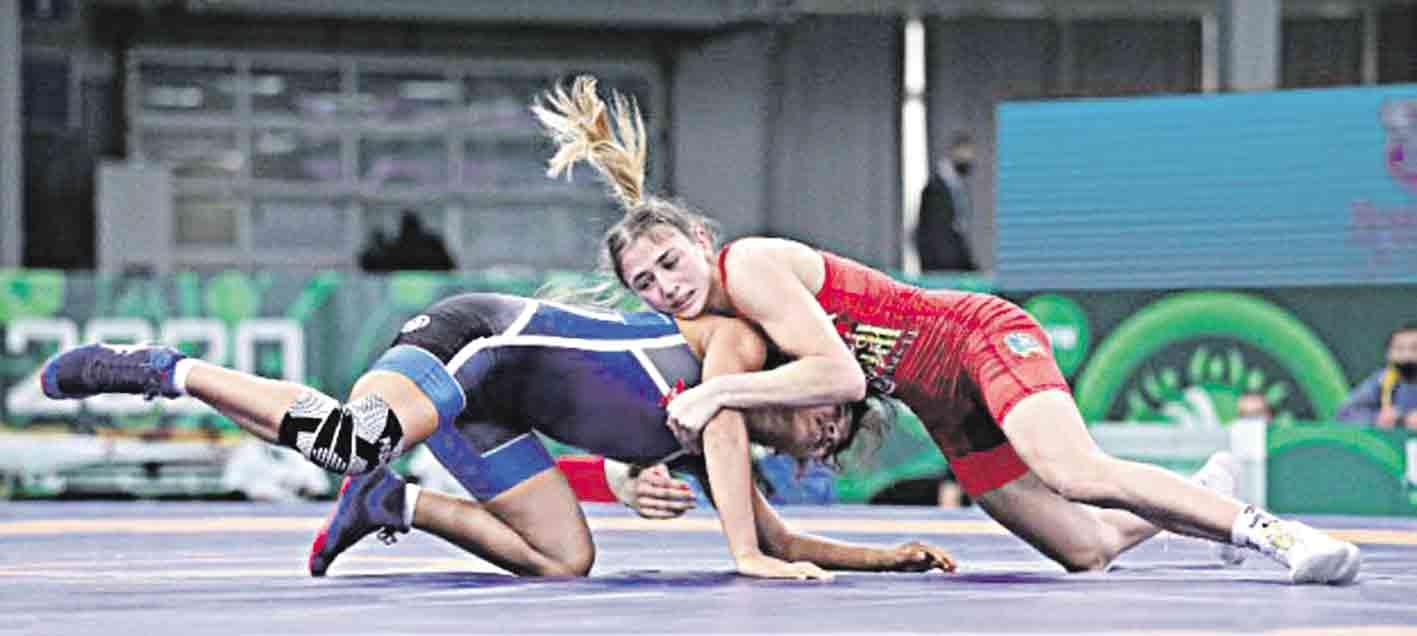 Дочка атовця виграла «бронзу» на чемпіонаті Європи з боротьби