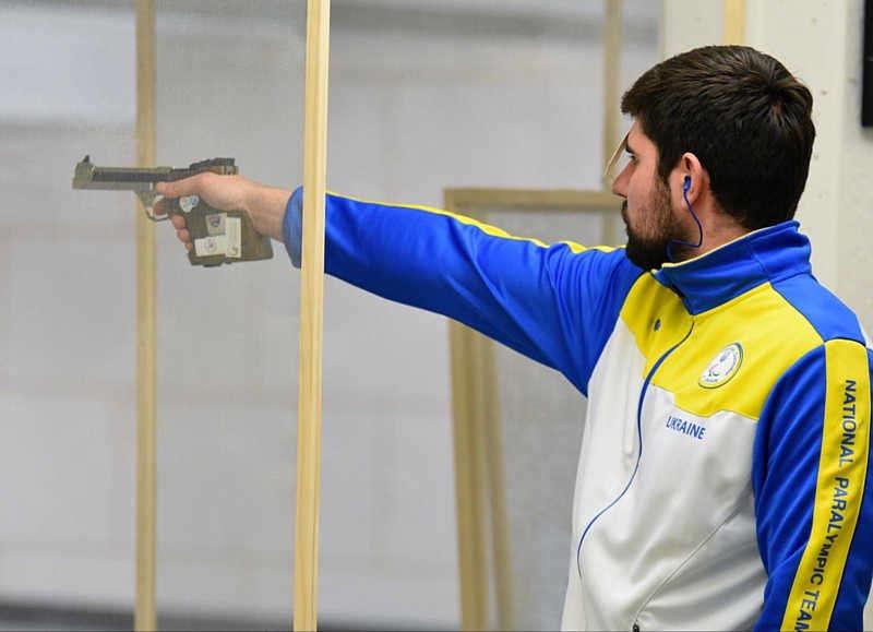 Вінничанин Олексій Денисюк виборов золоту нагороду на Кубку світу з кульової стрільби